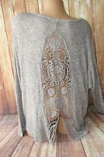 Women's Daytrip by BKE scoop neck long sleeve LG sweater