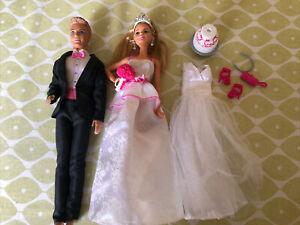 Barbie and Ken Wedding Set