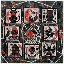 Boo Moon Halloween Ornaments Prairie Schooler Cross Stitch Pattern No. 189
