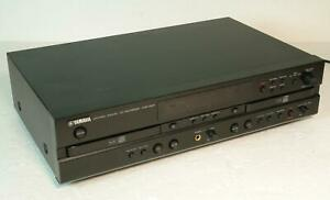Yamaha Natural Sound CDR-D651 Dual Twin CD Recorder Player Deck