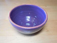 "Bobby Flay Portugal PLANCHA Purple Set of 6 Soup Cereal Bowls 5 1/2"" pics light"