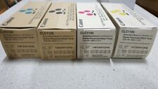 1 Set of Genuine Canon 1455A001 1461A00 1467A001 1473A00 For CLC1100 Series New