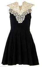 Dorothy Perkins Polyester Skater Short/Mini Dresses