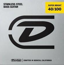 Dunlop Super Bright Stainless Steel 4-string Bass Strings 40-100 DBSBS40100