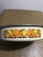 """Vintage 70's Merry Mushroom Sears & Roebuck Cooking Frying Pan (BD1) 10 1/2"""""""