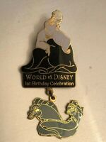 Disney Pin: WDW - World of Disney 1st Anniversary (Ursula & Eels)
