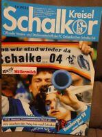 FC Schalke 04 + Schalker Kreisel Magazin 03.08.1991 Bundesliga Hamburger SV /292