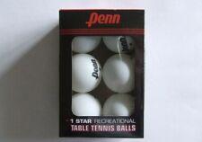Penn Table Tennis Ping Pong Balls Recreational 6 pack-New Sealed