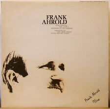 "FRANK AHROLD Piano Sonatas Nos 1 &2/Variations on ""Jesu, Meine Freude"" LP Ltd Ed"