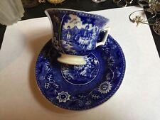 Dutch Blue Societe Ceramique Maestricht Holland Tea Drinker Cup & Saucer