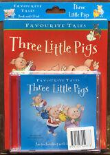 Favourite Tales Three Little Pigs - Book & CD Set - Parragon 2005