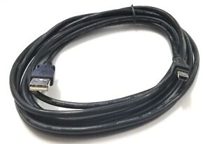 NEW 10' USB A Male to USB Mini B Male Data or Video Cable, 10ft USB 2.0