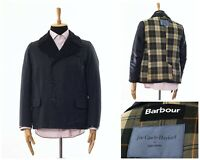Mens BARBOUR Joe Casely-Hayford John Lewis Waxed Wax Pea Coat Double Breasted