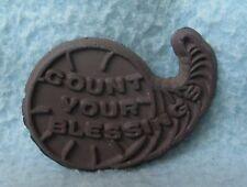 Vintage Count Your Blessing Capricorn Rubber Magnet Souvenir Travel Refrigerator