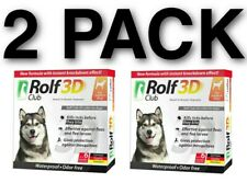Rolf Club 3D Flea Dog Collar - 1 Year Flea Tick Prevention - Up to 65 Lbs.