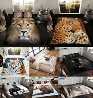 Luxury 3 D Animal Duvet Set 3PCs Duvet Cover Set Quilt Cover Set Bed Set bedding