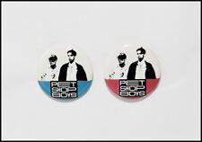 Pet Shop Boys Lot Of 2 Original Vintage Buttons Pin Badges