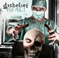 "DISBELIEF ""HEAL"" CD DEATH METAL NEU"