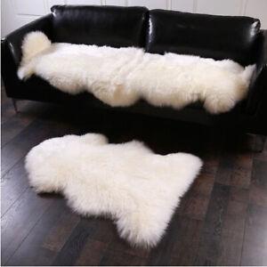 Natural New Zealand Sheepskin Rug 100% Genuine Sheep Fur