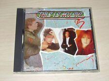 v/a THIS IS MUSIC 5 CD 1989 Quality OMD Tiffany Pat Benatar Gloria Estefan