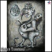 art modern painting figurative contemporary goetia lemegeton abraxas demon seal