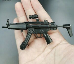 "1/6 Scale HK MP5 Rifle Gun Weapon Military Toy For 12"" Action Figure Soldier UK"