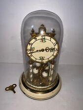 Vintage Used Schatz Jahresuhrenfabrik Germany 49 Dome Style Shelf Clock Parts