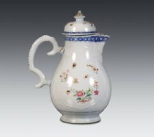 SUPERB AND RARE ANTIQUE CHINESE LIDDED JUG 18TH C.