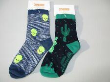 Gymboree Skull Cactus Socks Lot Spring Forward XXS 3 NWT