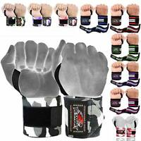 BS Wrist Weight Lifting Training Gym Straps Support Grip Glove Body Building