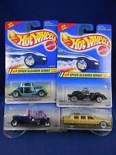 Hot Wheels 1995 - Speed Gleamer Series – Set of 4 - Mattel – MIMP Collection