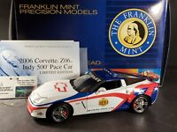 Franklin Mint 2006 Chevy Corvette Z06 Indy 500 Pace Car 1:24 Scale Diecast Model