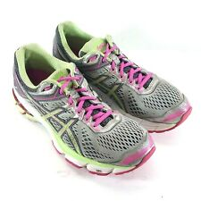 Asics GT 1000 womens size 8.5 2A Running Shoes Green White Sneakers T5B5N