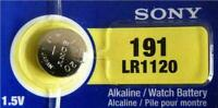 Sony 191 LR1120 1.5V Button Cell Battery Fest fast Melbourne