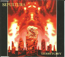 SEPULTURA Territory 3 TRX w/ UNRELEASED Trk Europe CD single USA Seller