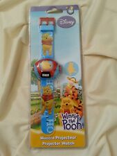 DISNEY - Winnie The Pooh Projector Watch New Sealed Disney Toy Collectible Watch