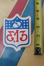 Mystro Menis's Earth Gear 313 Armageddon USA Flag MUSIC CULTURE Vintage STICKER