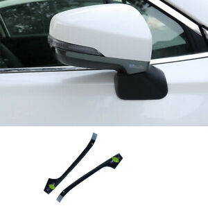 For Subaru forester XV 2018-20 Black titanim Rearview Mirror Anti-scratch strip