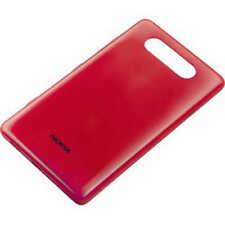 Originale Nokia Custodia CC-3058 Lumia 820 rosso Coperchio Per Batteria