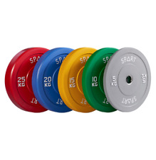 SPART Olympic Rubber Bumper Plates / Weighted Plates / Rack Fitness Accessories