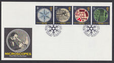 Great Britain 1989 FDC Royal Mail Cover Microscopes Royal Society Insect Oxford