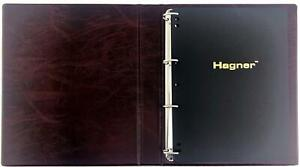 Coingallery Hagner Albums 4 ring binders Hagner Stock Stamp Sheets Pages
