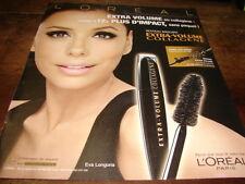 EVA LONGORIA - Publicité de magazine COSMETIQUE !!!!!! 2 !!!!!!!!!!!