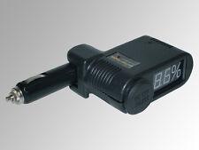 Comprobador Batería 12v Coche Digital Encendedor Cigarrillos BUJE Car EAL 16620