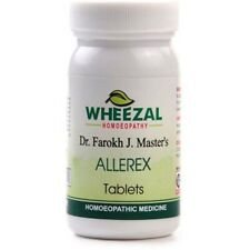 2 X Homeopathic Wheezal Allerex 75 Tablets Running Nose & Cough Free Shipping