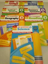 Grade 3 Curriculum kit; 3rd Grade Homeschool Bundle, Evan Moor (LA,Science,Geog)