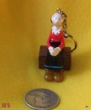 Popeye Olive Oyl Toy Key Chain 1996 Mint in Factory Sealed Bag