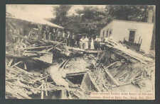 Ca 1915 PPC* Disaster Flood Claims Lives In Erie Pa Mint