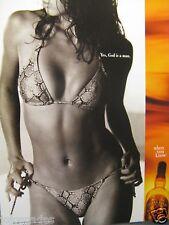 "2002 Chivas Regal Original Print Ad-8.5 x 10.5""-Yes , God is a man."