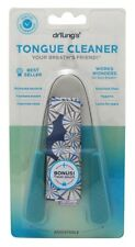 Dr. Tungs Tongue Cleaner, Stainless Steel colors may vary